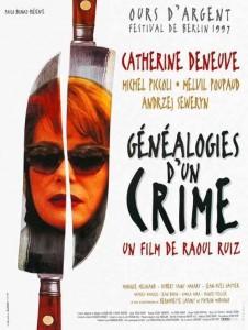 """Affiche du film """"Généalogies d'un crime"""""""