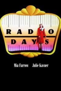 """Affiche du film """"Radio Days"""""""