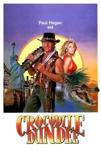 "Affiche du film ""Crocodile Dundee"""