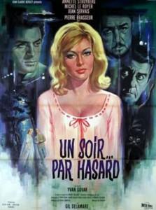 """Affiche du film """"Un soir... par hasard"""""""