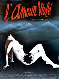 """Affiche du film """"L'amour violé"""""""
