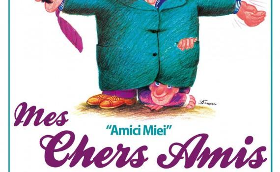 """Affiche du film """"Mes chers amis"""""""
