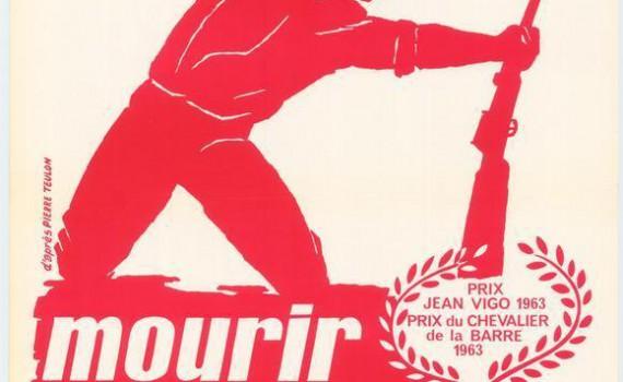 "Affiche du film ""Mourir à Madrid"""
