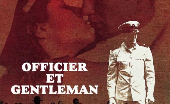 """Affiche du film """"Officier et gentleman"""""""