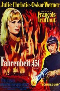"""Affiche du film """"Fahrenheit 451"""""""