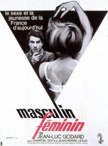 "Affiche du film ""Masculin, féminin"""