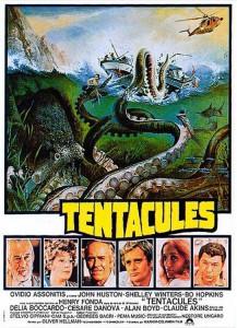 "Affiche du film ""Tentacules"""