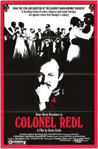 """Affiche du film """"Oberst Redl"""""""