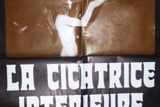 """Affiche du film """"La cicatrice intérieure"""""""