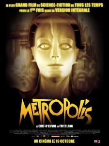 """Affiche du film """"Metropolis"""""""