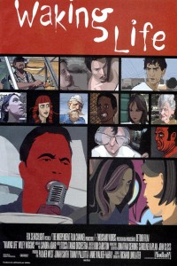 "Affiche du film ""Waking Life"""