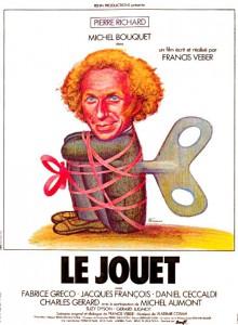 """Affiche du film """"Le jouet"""""""