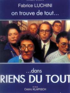"""Affiche du film """"Riens du tout"""""""
