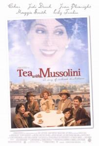 """Affiche du film """"Un thé avec Mussolini"""""""