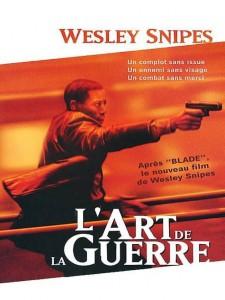 """Affiche du film """"L'art de la guerre"""""""