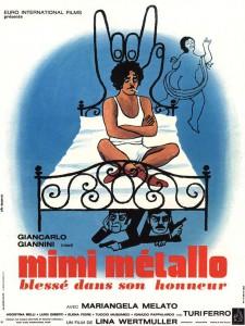 """Affiche du film """"Mimi, metallo blessé dans son honneur"""""""