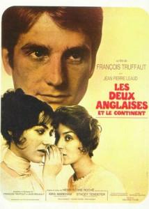 """Affiche du film """"Les deux Anglaises et le continent"""""""