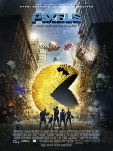 """Affiche du film """"Pixels"""""""