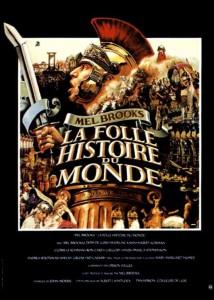 """Affiche du film """"La folle histoire du monde"""""""