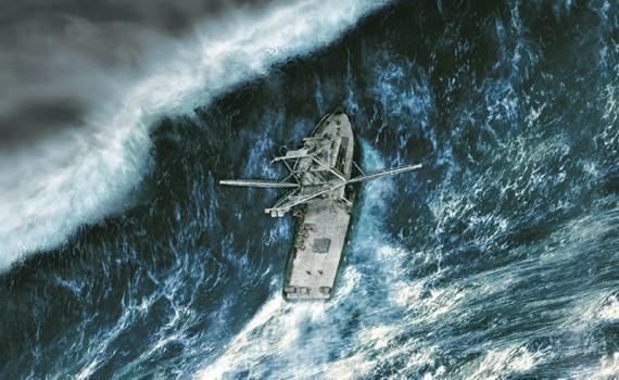 "Affiche du film ""En pleine tempête"""