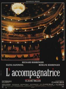 """Affiche du film """"L'accompagnatrice"""""""