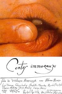 """Affiche du film """"Contes immoraux"""""""