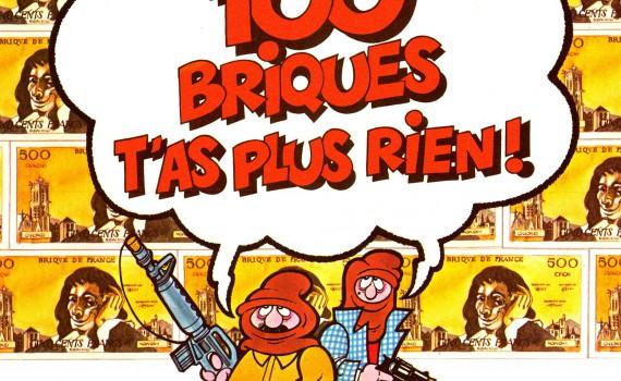 """Affiche du film """"Pour Cent Briques T'as Plus Rien"""""""