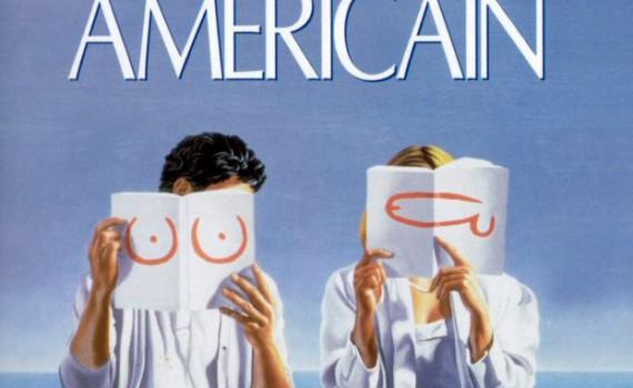"""Affiche du film """"Le déclin de l'empire américain"""""""