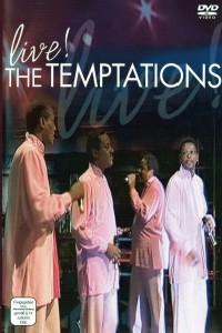 """Affiche du film """"The Temptations - Live!"""""""