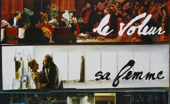 """Affiche du film """"Le cuisinier, le voleur, sa femme et son amant"""""""