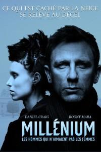 """Affiche du film """"Millénium - Les Hommes qui n'aimaient pas les femmes"""""""