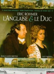 """Affiche du film """"L'Anglaise et le duc"""""""