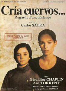 """Affiche du film """"Cría cuervos"""""""