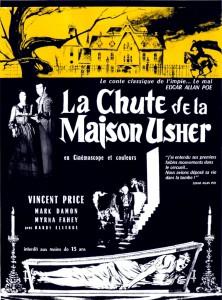 """Affiche du film """"La Chute de la maison Usher"""""""