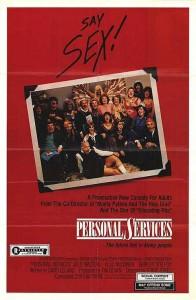 """Affiche du film """"Personal Services"""""""