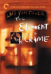 "Affiche du film ""Element of crime"""