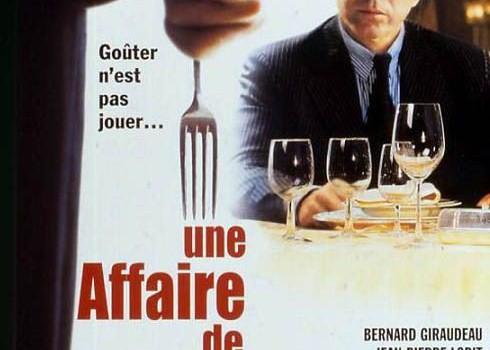"""Affiche du film """"Une affaire de goût"""""""