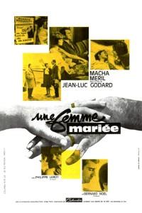 """Affiche du film """"Une Femme Mariée"""""""