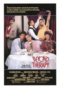 """Affiche du film """"Beyond Therapy"""""""