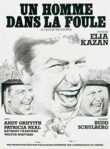"""Affiche du film """"Un Homme dans la foule"""""""