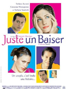 "Affiche du film ""Juste un baiser"""