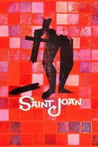 """Affiche du film """"Saint Joan"""""""