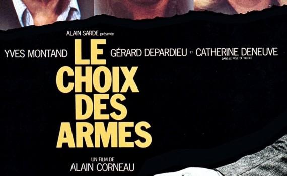 """Affiche du film """"Le choix des armes"""""""