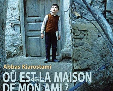 """Affiche du film """"Ou est la maison de mon ami"""""""