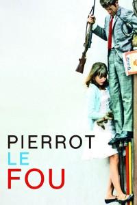 """Affiche du film """"Pierrot le fou"""""""