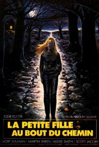 """Affiche du film """"La Petite Fille au bout du chemin"""""""