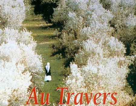 """Affiche du film """"Au travers des oliviers"""""""