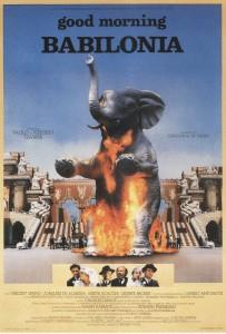 "Affiche du film ""Good morning Babilonia"""
