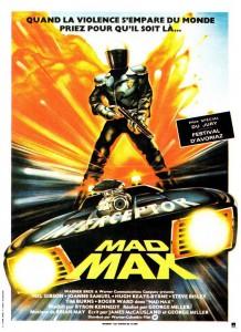"Affiche du film ""Mad Max"""