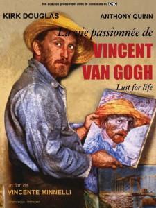 """Affiche du film """"La vie passionnée de Vincent Van Gogh"""""""